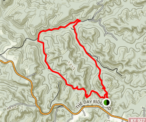 Natural Arch Trail Map
