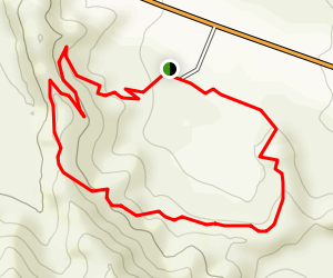 Mormon Rocks Interpertive Trail Map