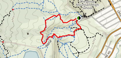 Stratton Open Space Loop Map