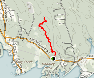 Stony Creek to Thimble Islands Trail Map