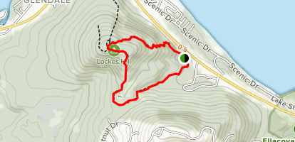 Lockes Hill Trail Map