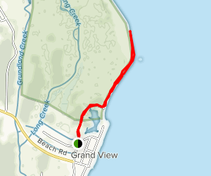 Back River Lighthouse Ruins Trail Map