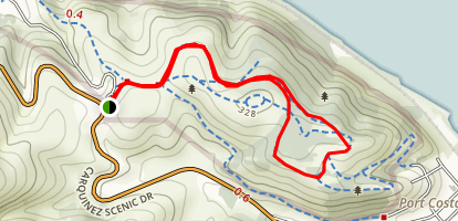 Carquinez Regional Shoreline Map