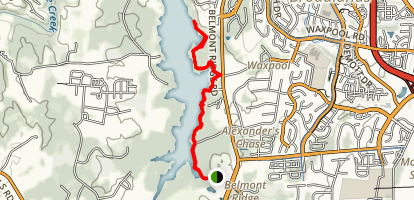 Beaver Dam Reservoir Trail Map