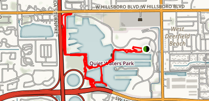 Quiet Waters Park Mountain Bike Trail Map