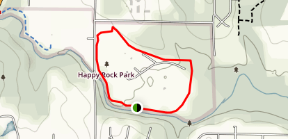 Happy Rock Trail Map