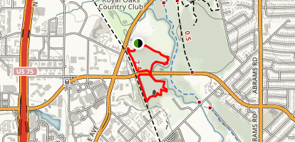 Harry Moss Trail Map