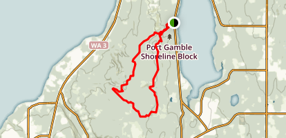 Salsbury Point Trail Map
