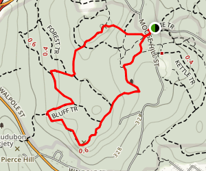 Moose Hill Trail Map