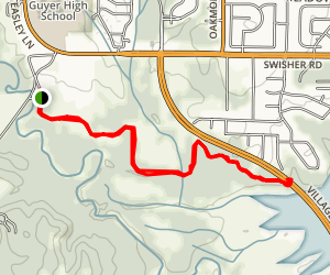 Elm Fork Trail Map