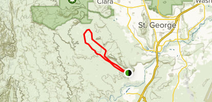 Bearclaw Poppy and Snake Pit Trail Map