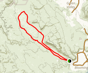 Green Valley Loop Trail Map