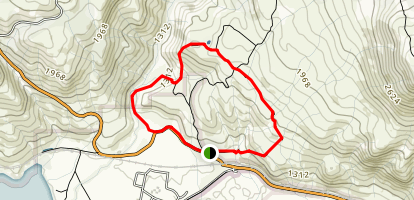 Mara Loop Trail Map