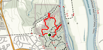 Ball's Bluff Canal Ride Map