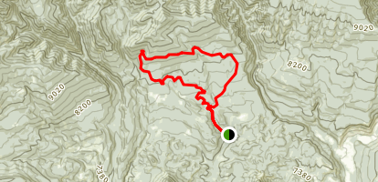 Dry Fork Loop Map