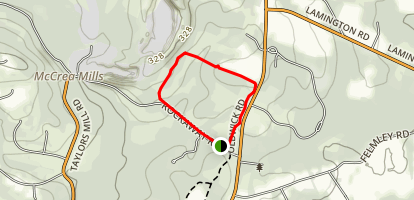 oak bridge trail Map