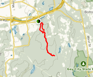 Case Mountain Trail Map