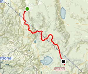 Fort Churchill to Wellington Back Country Byway Map