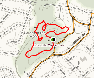 Garden in the Woods Trail Map