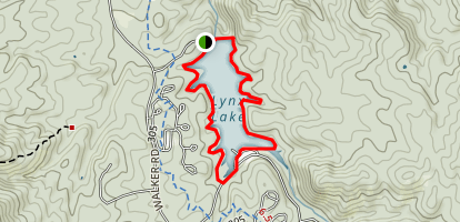 Lynx Lake Loop Trail Map