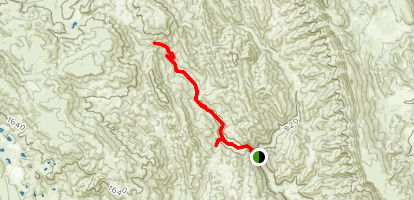 Zim Zim Falls Trail Map