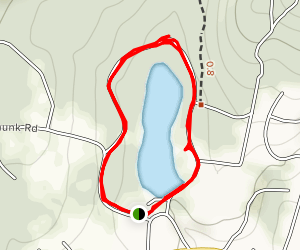 Earl Reservoir Loop Map