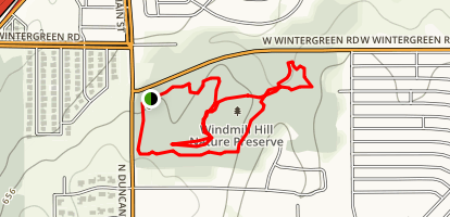 Windmill Hill Preserve Trail Map