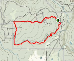 Lost Falls Trail Map