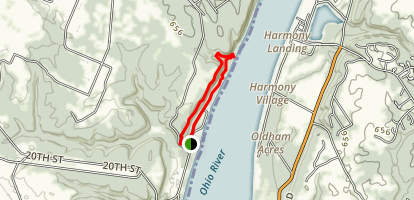 Charlestown State Park #6 Trail Map