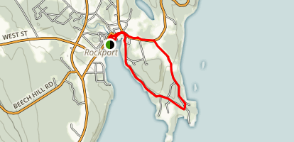 Rockport Village Trail Map