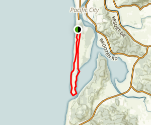 Nestucca Spit Trail Map