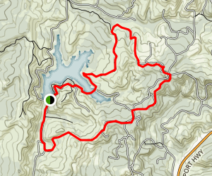 Ollala Simple Trail Map