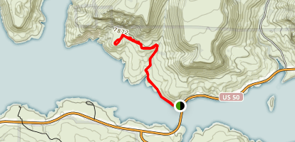 Dillon Pinnacles Trail Map