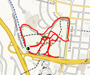 Shaw Park Map