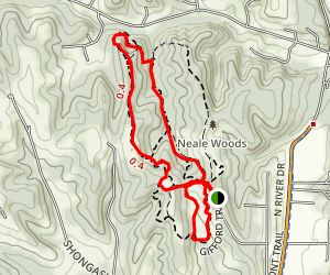 Neale Woods Nature Center Trails Map