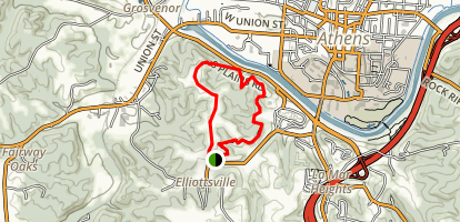 The Ridges Loop Trail Map
