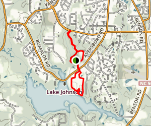 White Deer Park and Lake Benson Park Loop Map