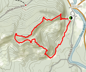 Mount Cutler Trail Map