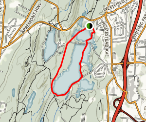 Ashley Reservoir Trail Map