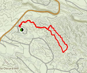 Pacheco Canyon Trail Map