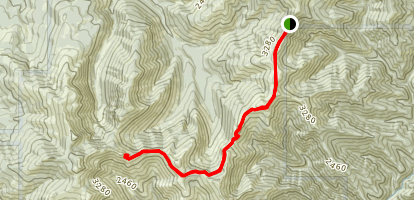 Bluff Mountain Trail Map