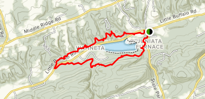 Little Buffalo State Park Trail Map