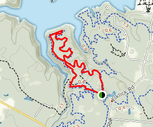 Adena Loop Trail Map