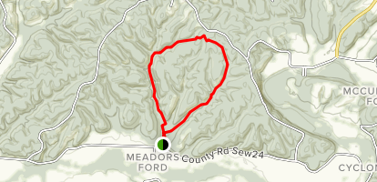 Chinquapin Trail Map