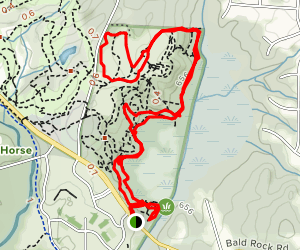 Big Haynes Creek Nature Center (Georgia International Horse Park) - Bike only trail Map