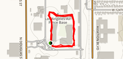 Los Angeles AFB Track Map
