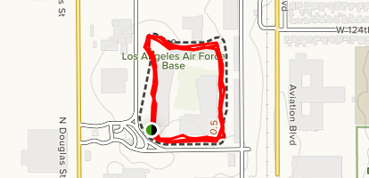 Los Angeles Afb Track California Alltrails - Us-track-map-it