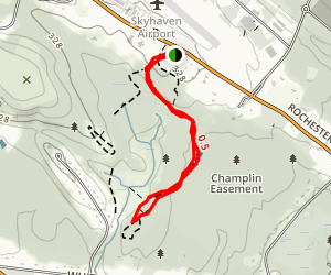 Lower Pond Trail Map