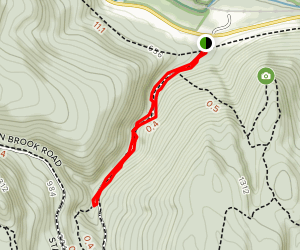 Falls Trail Map