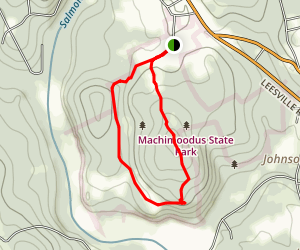 Machimoodus State Park Trail Map